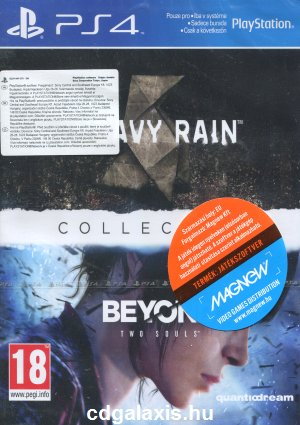 Playstation 4 Heavy Rain és Beyond: Two Souls Collection