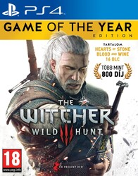 Playstation 4 Witcher 3: Wild Hunt Game of the Year Edition