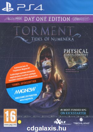 Playstation 4 Torment: Tides of Numenera - Day One Edition
