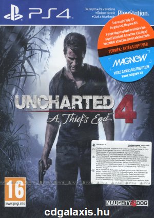 Playstation 4 Uncharted 4: A Thiefs End