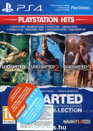 Playstation 4 Uncharted: The Nathan Drake Collection