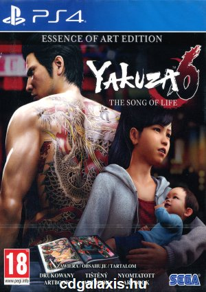 Playstation 4 Yakuza 6: The Song of Life - Essence of Art Edition