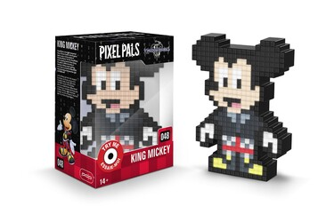 Relikviák Pixel Pals - Kingdom Hearts - King Mickey