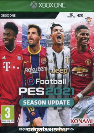 Xbox One eFootball PES 2021 Season Update