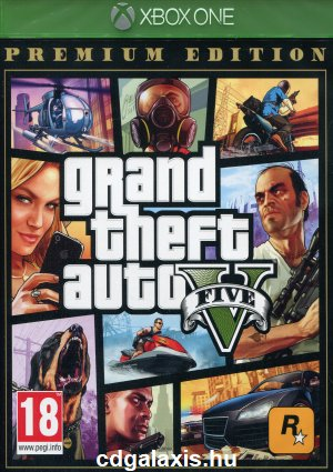 Xbox One Grand Theft Auto 5 Premium Edition