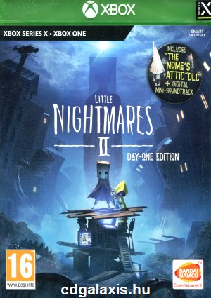 Xbox One Little Nightmares 2 Day One Edition borítókép