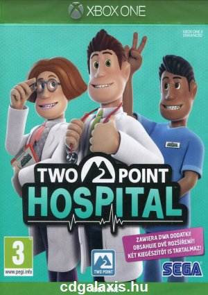 Xbox One Two Point Hospital borítókép