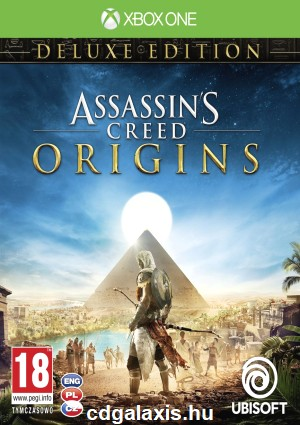 Xbox One Assassin's Creed Origins Deluxe Edition Horus csomag