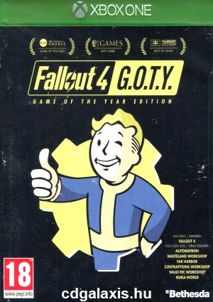 Xbox One Fallout 4 Game of the Year Edition
