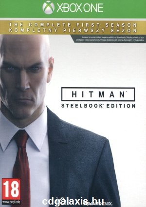 Hitman: The Complete First Season Steelbook Edition borító