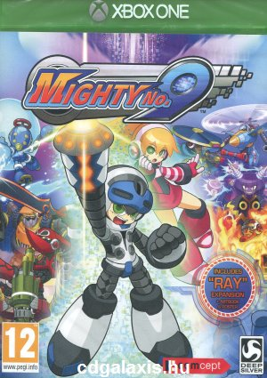 Mighty No. 9 borító