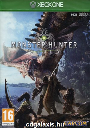 Xbox One Monster Hunter: World borítókép