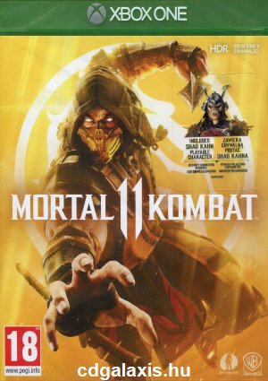 Xbox One Mortal Kombat 11