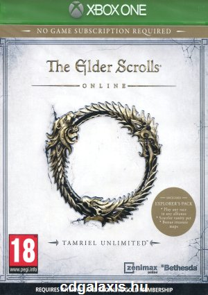 Xbox One Elder Scrolls Online Tamriel Unlimited