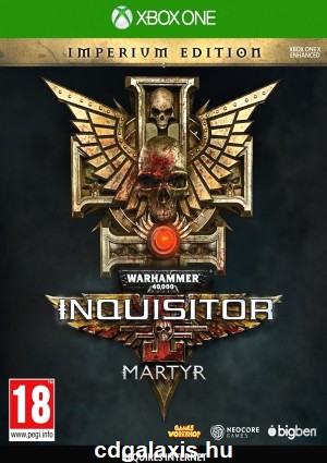 Xbox One Warhammer 40K Inquisitor Martyr Imperium Edition
