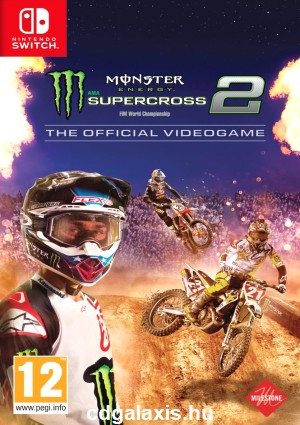 Switch Monster Energy Supercross - The Official Videogame 2