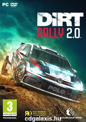 PC játék Dirt Rally 2.0
