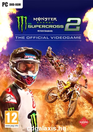 PC játék Monster Energy Supercross - The Official Videogame 2