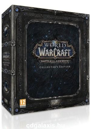 PC játék World of Warcraft kiegészítő: Battle for Azeroth Collectors (2. kör)