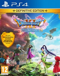 Playstation 4 Dragon Quest XI S Echoes of an Elusive Age Definitive Edition