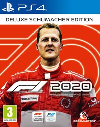 Playstation 4 F1 2020 Michael Schumacher Deluxe Edition