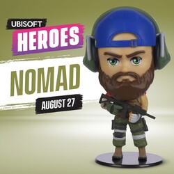 Relikviák Nomad figura (Ubisoft Heroes Collection)