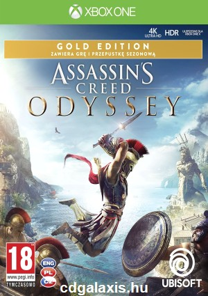 Xbox One Assassin's Creed Odyssey Gold Edition